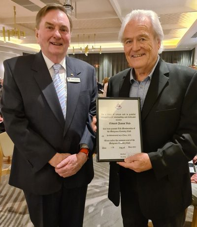Ted Vale awarded life membership