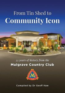 Get the book: The history of Mulgrave Country Club
