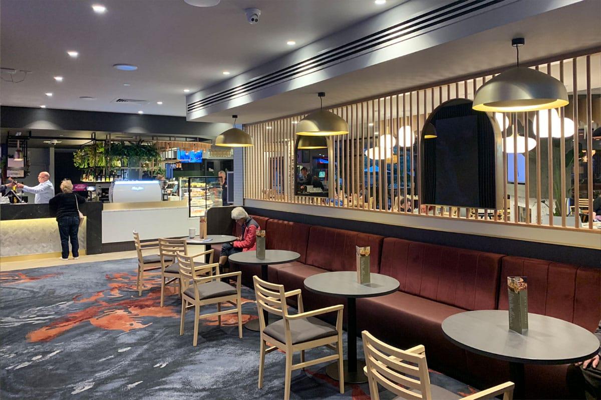 Mulgrave Country Club's renovated café